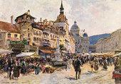 Ville de Berne marché