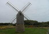 un moulin sur l'île de Ouessant