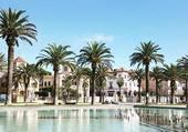 Les fontaines a Salou