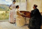 le piano - Edelfelt