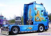 un superbe camion décoré