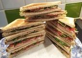 Puzzle Sandwichs variés .