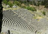 Delphes,  le temple