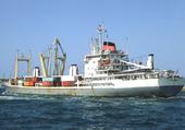 cargo clasique à la mer