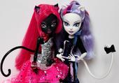 Monster heigh catty noir