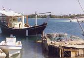 Abuh Dhabi bateau de pèche