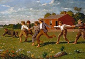 Snap the Whip 2 - Winslow Homer