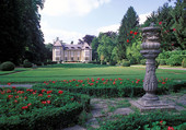Très beau parc et château