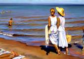 Finde journée sur la plage