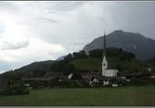 Jenbach sous les nuages