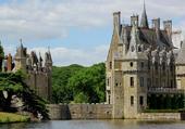 vue du chateau de la Bresteche