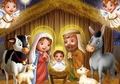 Puzzle nativité pour enfants