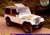 Jeep CJ7 Golden-Eagle