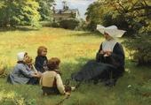 La leçon de catéchisme