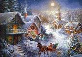 Puzzle Noel sous la neige