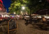 Petite place sympa a Liège