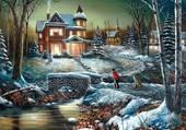 Soirée d'hiver