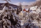 Paysage d hiver