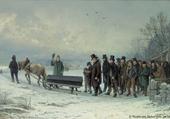 Enterrement à la Joux-Perret