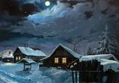 Puzzle nuit d'hiver
