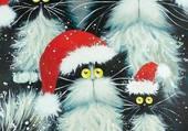 Les chats Noël
