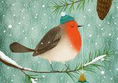 Puzzle L'oiseau de Noël