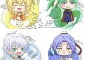 Akatsiki no Yona - Dragons