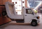 Camionnette musée art contemporain Lyon