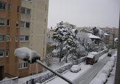 Puzzle Villeurbanne sous la neige