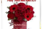 un bouquet pour mes amies
