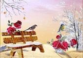Puzzle Roses d'hiver