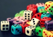 Puzzle jeux de dés