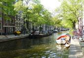 Les canaux à Amsterdam
