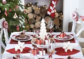 Jolie table de Noël