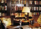 Bibliothèque fumoir