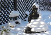 Bouddha hivernal