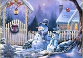 Joie de l'hiver