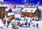 Rue à Noël