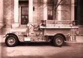ancien camion de pompier
