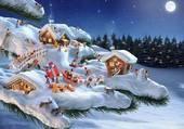 Puzzle Noël liliputien