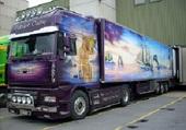 magnifique déco de camion