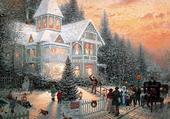 Puzzle Soir de Noël