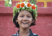 Puzzle Grand sourire fleuri