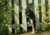 barrière au chat- ivars yansons