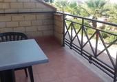 Sur le balcon en Sicile