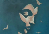 Portrait femme-oiseau