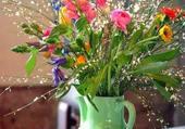 Cruche de fleurs