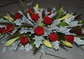 Montage de fleurs