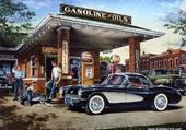 GARAGE AMERICAIN 1950