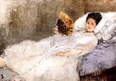 Puzzle Portrait de  mme Hubbard - B. Morisot